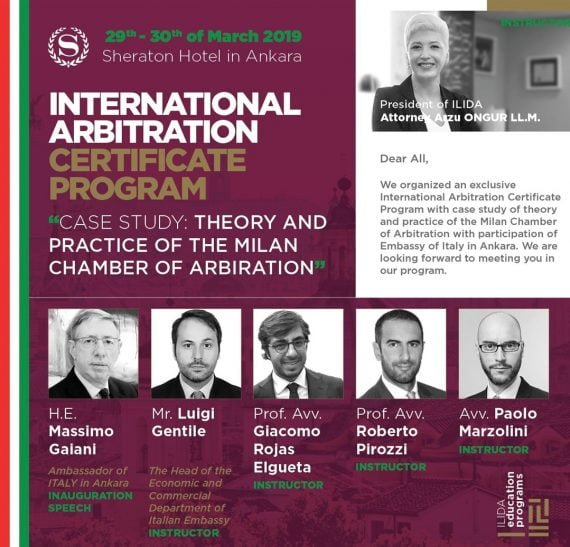 ILIDA International Arbitration Certificate Program